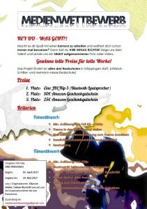 Medienwettbewerb Plakat als Bild