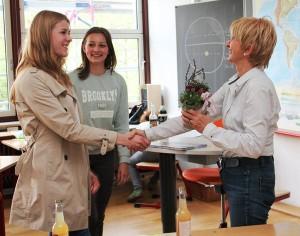 Die KulturStarterinnen bedanken sich bei Marion Kolb für den spannenden Vortrag.
