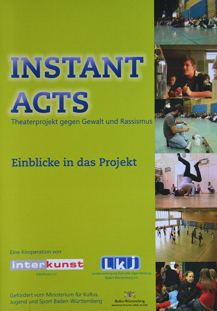 Cover von INSTANTACTS