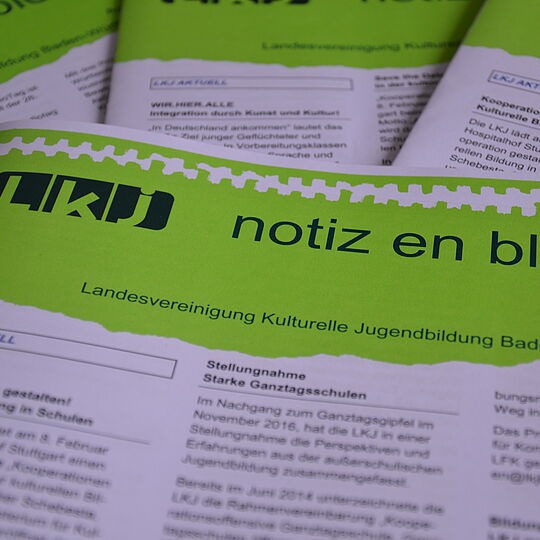Newsletter notiz en bloc